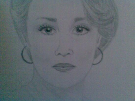 Meryl Streep by Persikan